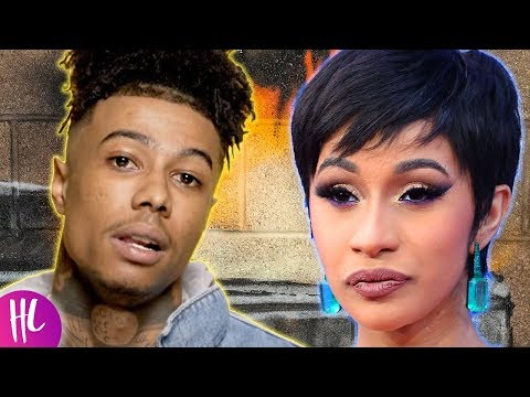 Blueface Reacts To Cardi B Diss After Thotiana Remix | Hollywoodlife