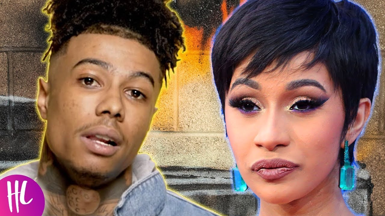 Cardi B S Tattoos Were On Display At The Vmas: Blueface Reacts To Cardi B Diss After Thotiana Remix