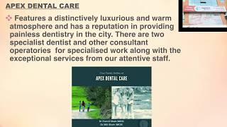Smile @ Apex Dental Care & Implant Centre Clinic