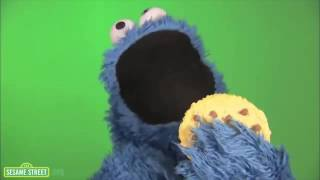 Печеньки Ням Ням Куки Монстр Cookie Monster om nom nom