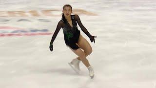 Каори Сакамото. Произвольная программа. Женщины. Skate America. Гран-при по фигурному катанию