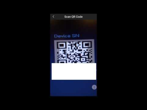 CAMX CCTV: Adding a Device on a Smartphone Using P2P