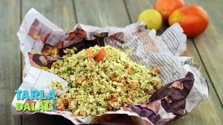 Oats and Poha Sukha Bhel by Tarla Dalal