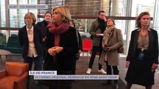 Île-de-France : Le Conseil Régional déménage en Seine-Saint-Denis
