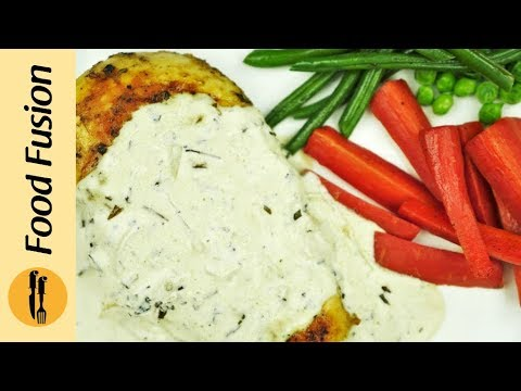 Grilled Chicken with Tarragon Sauce Recipe by Food Fusion