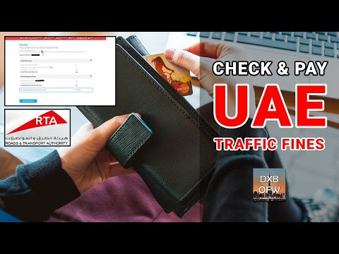 How To Check And Pay UAE Traffic Fines Online