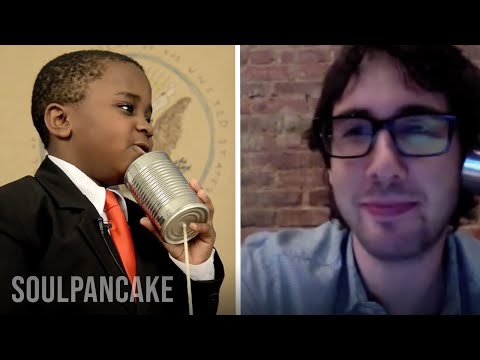Kid President FINALLY Interviews Josh Groban