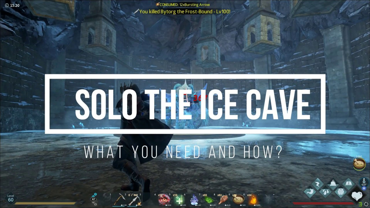 Dark And Light Solo The Ice Cave Youtube