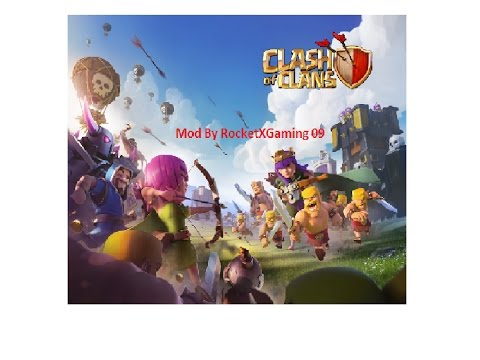 Clash of clans v8.709.23 mod apk (English subtitles)