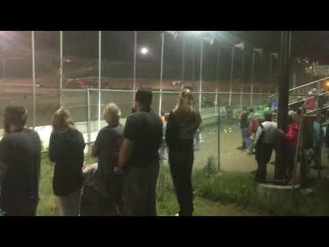 Lincoln County Raceway 7-6-2018 feature compact