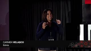 Inclusión socioeconómica de la mujer a través de servicios integrados   Carmen Velasco   TEDxINCAE