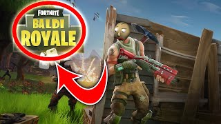 FORTNITE BALDI'S BASICS CROSSOVER?! - New secret feature found!