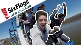 OPENING WEEKEND AT SIX FLAGS NEW ENGLAND!!