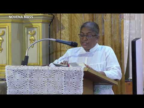 Novena Mass - Day 4 - 18th June - Fr. Derick Fernandes - St. John The Baptist Church, Pilerne