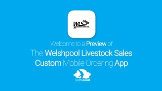 Welshpool Livestock Sales - Mobile App Preview - WEL465W