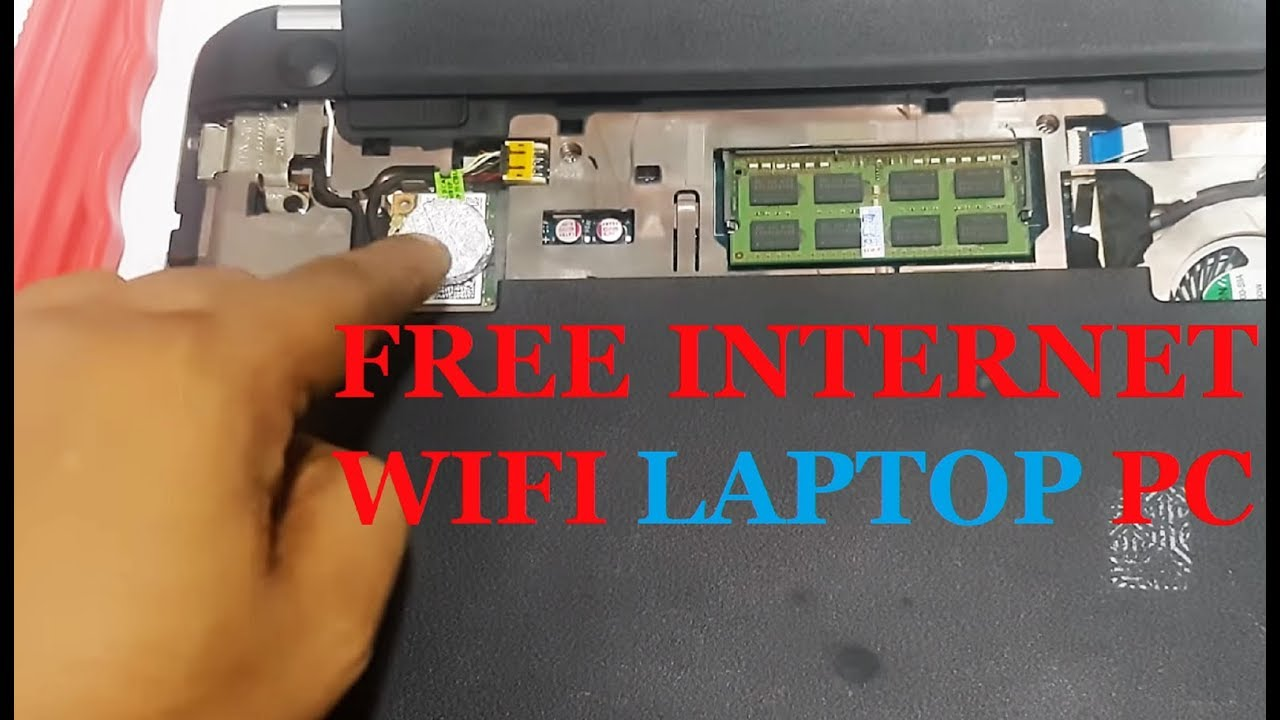 WAY HOW TO GET FREE DATA INTERNET WiFi LAPTOP PC TRICKS HACK