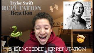 Reputation - Taylor Swift ALBIM REACTION | Michael Smalz