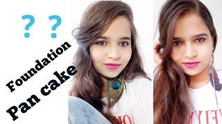 Foundation vs pancake || perfect makeup base ||