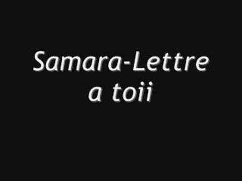 Samara-Lettre a toi