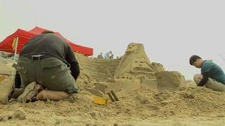 예술 경연장 된 해변…태안 모래조각 페스티벌 / 연합뉴…