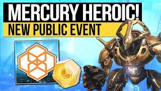 Destiny 2 | MERCURY HEROIC PUBLIC EVENT! - How to Activate The Heroic Vex Crossroads Event!