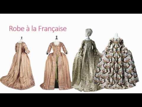 La mode à travers l'Histoire - Le XVIIIe siècle PREMIERE PARTIE