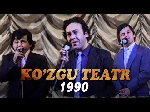 Ko'zgu Teatri 1990-yildagi Konsert Dasturi