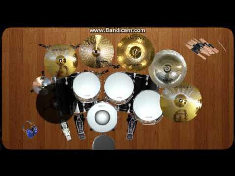 Virtual Drum Cover - Young Lex - GGS ( Ganteng-Ganteng Swag )