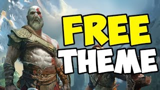 How to Install Free God of War PS4 Theme \u0026 Avatar