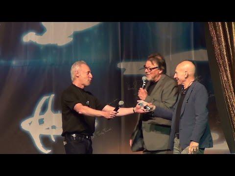 Jonathan Frakes, Brent Spiner, LeVar Burton, and Patrick Stewart  LV Star Trek Convention 2015
