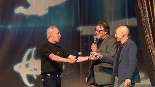Jonathan Frakes, Brent Spiner, LeVar Burton, and Patrick Stewart - LV Star Trek Convention 2015
