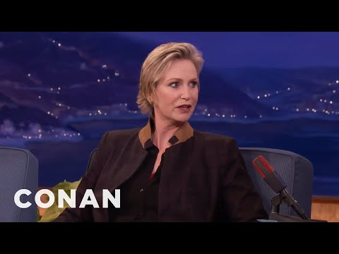 Jane Lynch Isn't Excited About The Emmys   CONAN on TBS