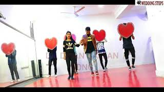 Dil Diya Gallan Couple Wedding Dance Easy Steps | Tiger Zinda Hai