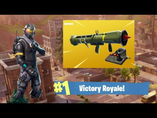 Fortnite Battle Royale Guided Missile Gameplay