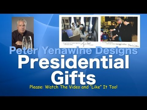 Peter Yenawine Designs Presidential Gifts For Seven U.S. Presidents