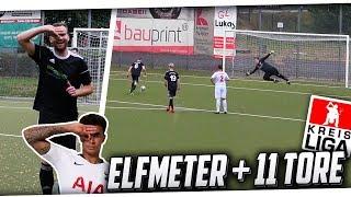 Unser 1. MEISTERSCHAFTSSPIEL! Heftiges Spiel mit 11 Toren + Dele Alli Jubel, Elfmeter & mehr! PMTV