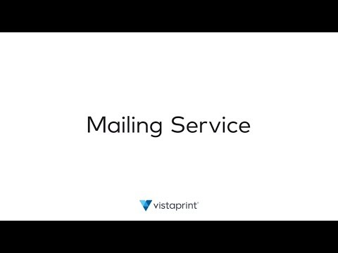 How can Vistaprint's Postcard Mailing Service help me with my direct mail campaign?