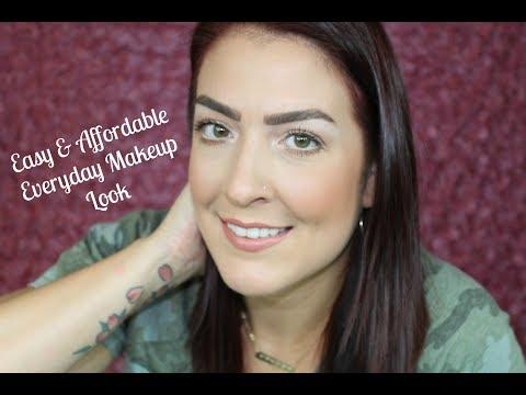 Easy \u0026 Affordable Everyday Makeup Look