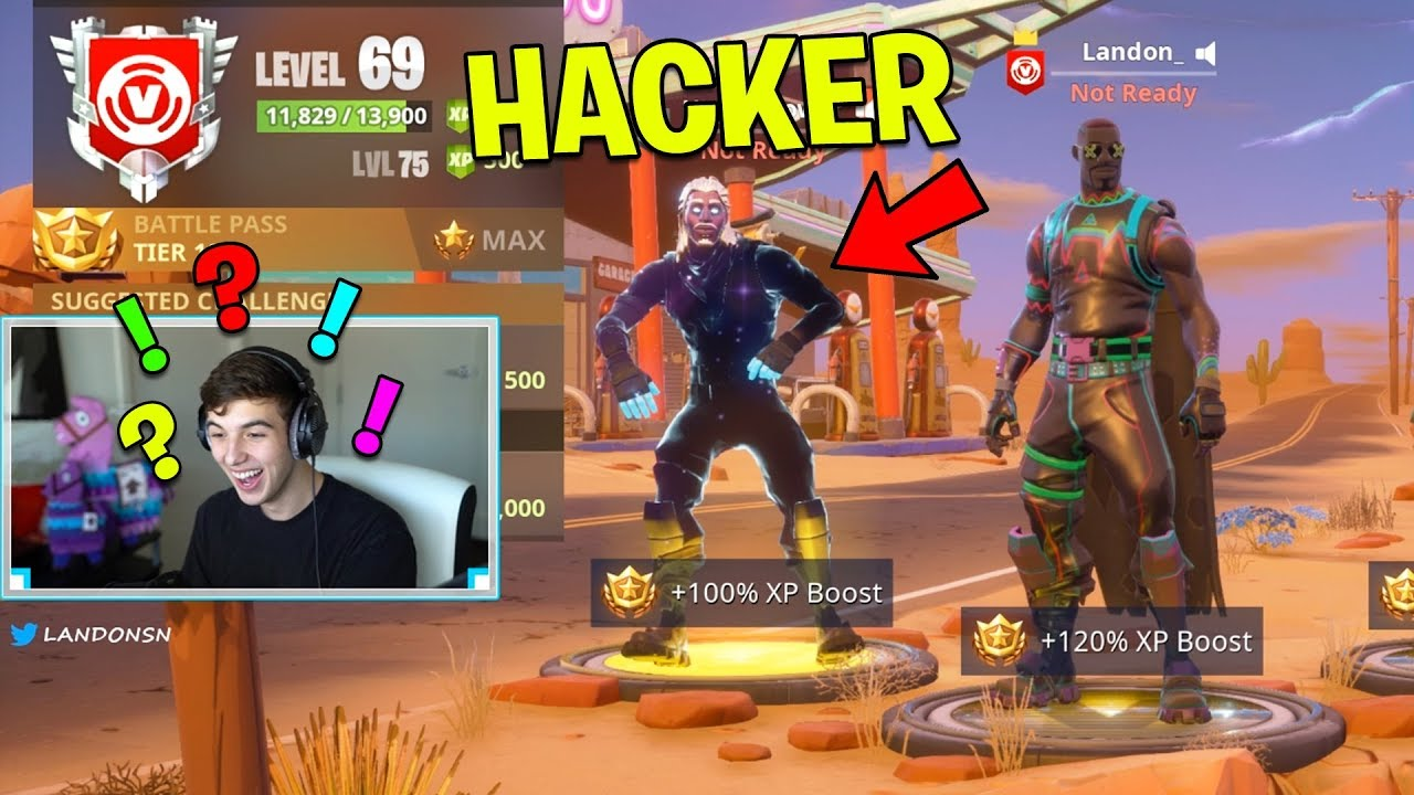 1b33aedd7caba9 So I found a REAL Fortnite Hacker.. (Fortnite Battle Royale) - YouTube