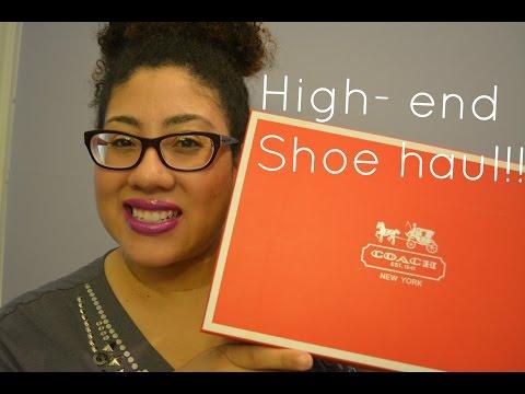 COACH shoe haul