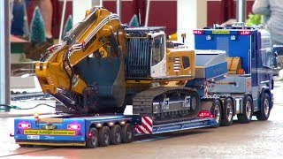 GREAT RC TRUCK MOMENTS! HEAVY MACHINES! RC CONSTRUCTION!