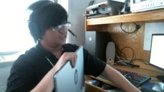 hp elite l2201x 21 5 inch slim led backlit lcd monitor unboxing