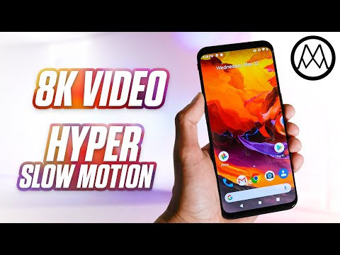 The 8K Video Smartphone is here.