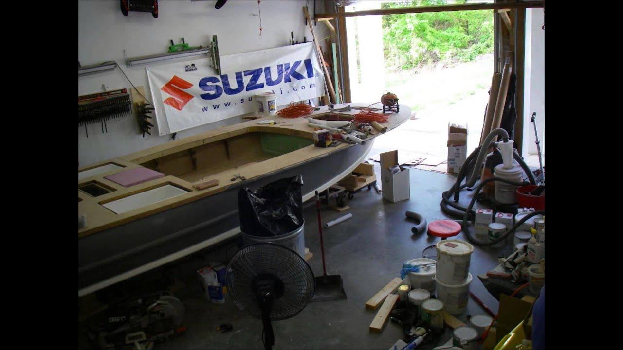 Flats Boat Build part 52