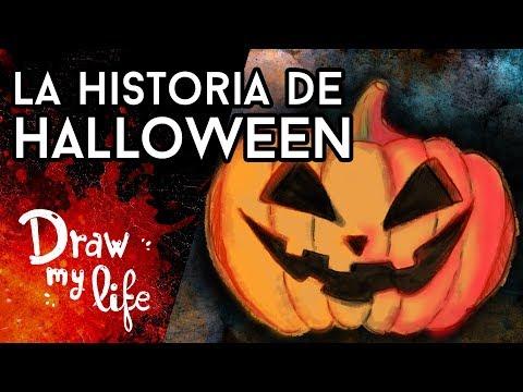 La HISTORIA REAL de HALLOWEEN - Draw My Life