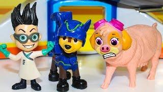 Щенячий патруль новые серии Щенки и ПРЕВРАЩЕНИЕ Ромео Герои в масках мультики про игрушки Paw Patrol