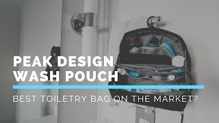 Is the Peak Design WASH POUCH the best toiletry bag in the market? | The Travel Line Kickstarter