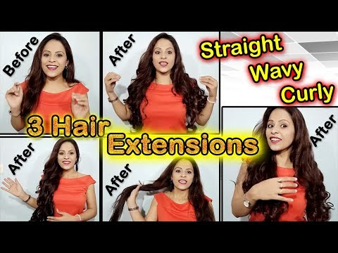 best-affordable-&-easy-hair-extension-review&demo|how-to-clip-in-hair-extension|ideas-with-aru