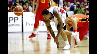 China survives Clarkson, Team Philippines with 82-80 squeaker