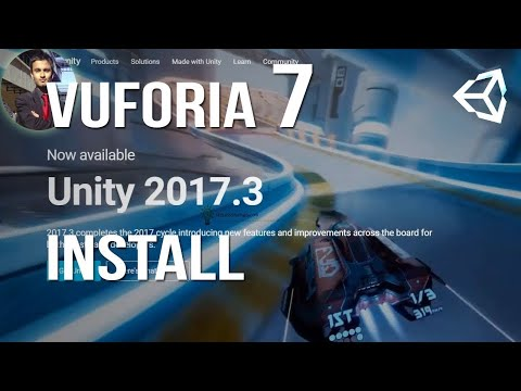 Vuforia 7 / Unity 2017 3 Download/Install and HelloWorldAR